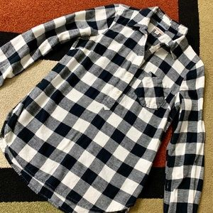 ✨Black and White Women's Checkered Flannel✨